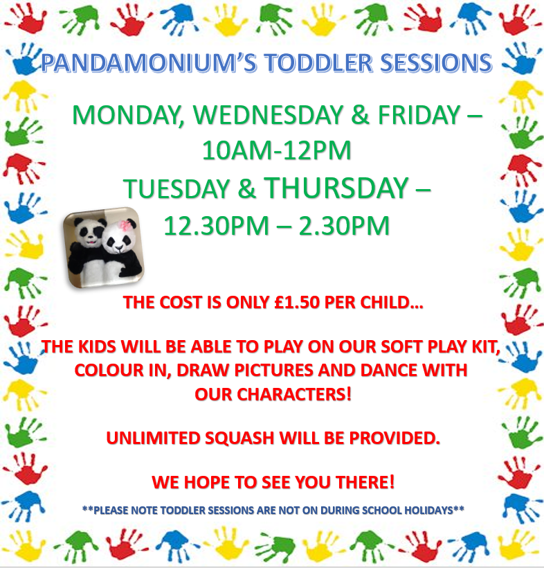 TODDLER SESSION